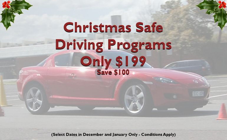 Murcotts Driving Excellence is proud to offer a special Christmas rate of only $199 (RRP $299) for a Murcotts' Level 1 Defensive Driving Program on select dates between December 2020 and January 2021.